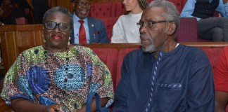Olu Jacobs And Joke Silva Are The Perfect Couple At The Wives Stage Play Finale
