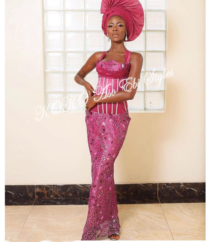From BamTeddy With Love! 10 Hot Aso-ebi Styles From Bambam & Teddy A's Introduction 9