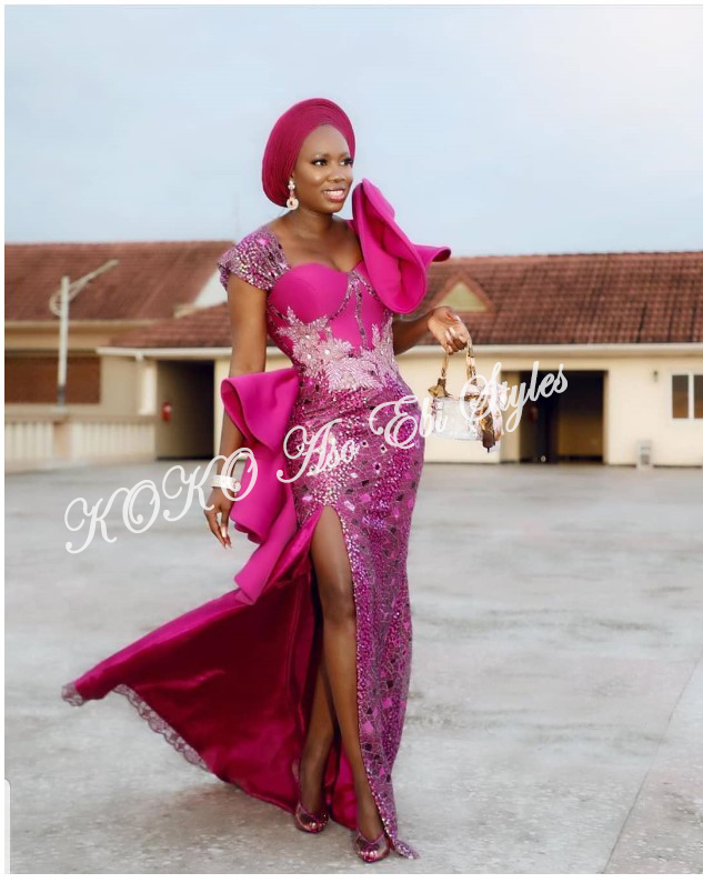 From BamTeddy With Love! 10 Hot Aso-ebi Styles From Bambam & Teddy A's Introduction 5