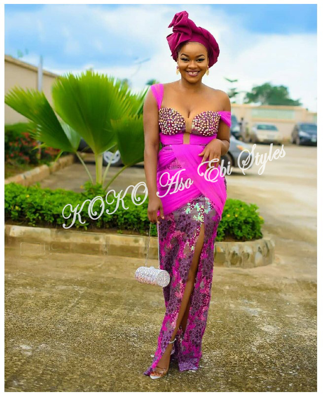 From BamTeddy With Love! 10 Hot Aso-ebi Styles From Bambam & Teddy A's Introduction 4