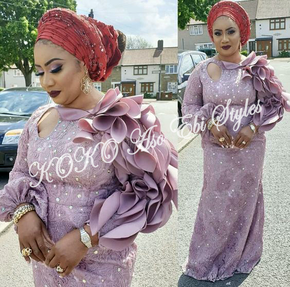 Aso Ebi Styles Inspiration For Your Owambes In October