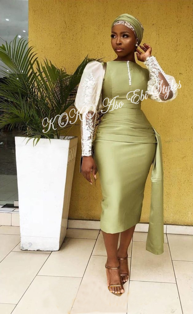 Be The Trend Setting Guest At Your Next Owambe With These Aso Ebi Styles