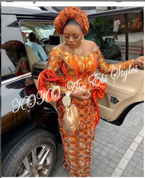 Hot And Classy! Serve Your 1st Owambe Goal With These Aso Ebi Styles