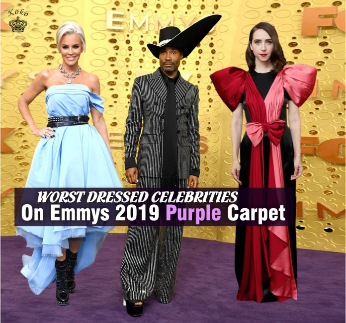 worst dressed celebrities at the emmys 2019