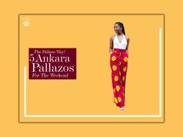The Pallazo Way! 5 Ankara Pallazos For The Weekend