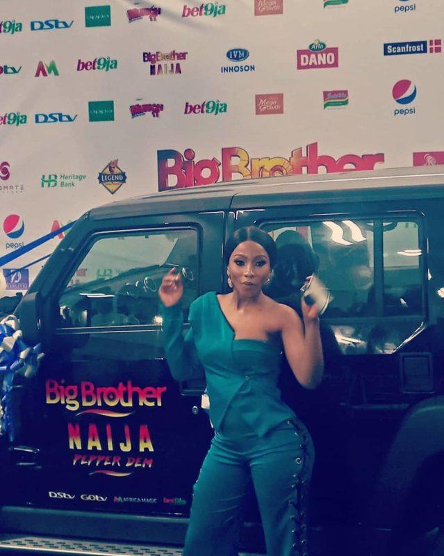 BBNaija: Mercy Receives Her N30million Cheque, Becomes Innosson Motors Brand Ambassador 1