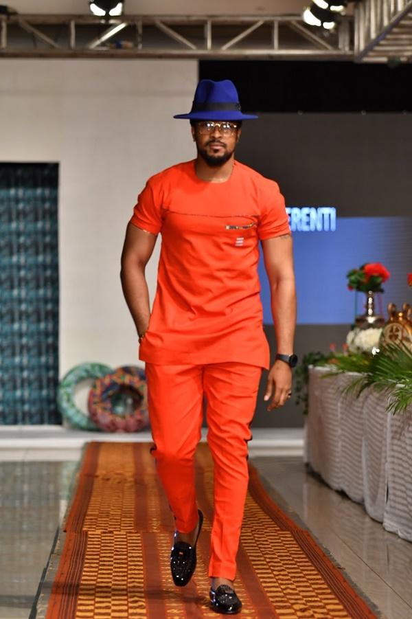 Bryan Okwara in Erenti Designs