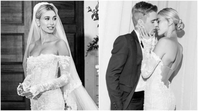 The Biebers! Hailey Baldwin Shares Stunning Unique Wedding Dress Of Dream Wedding To Justin Bieber 5