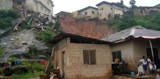 Building Collapses In Magodo, Kills Mother And Her Three Children