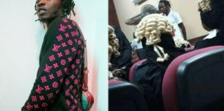 Lawyers Fight For Space To Seat At Naira Marley's Trial