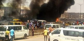 PrayForOnitsha: Ochanja Market Still On Fire - Eyewitness
