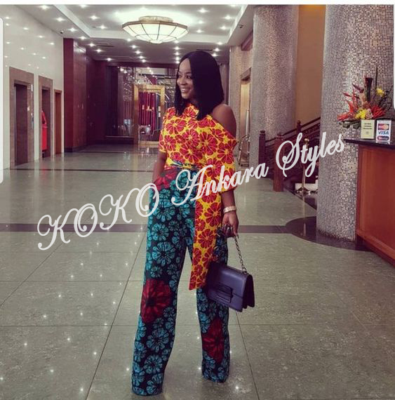 Jump On The Power Of These Ankara Jumpsuits To Flaunt Your Backside