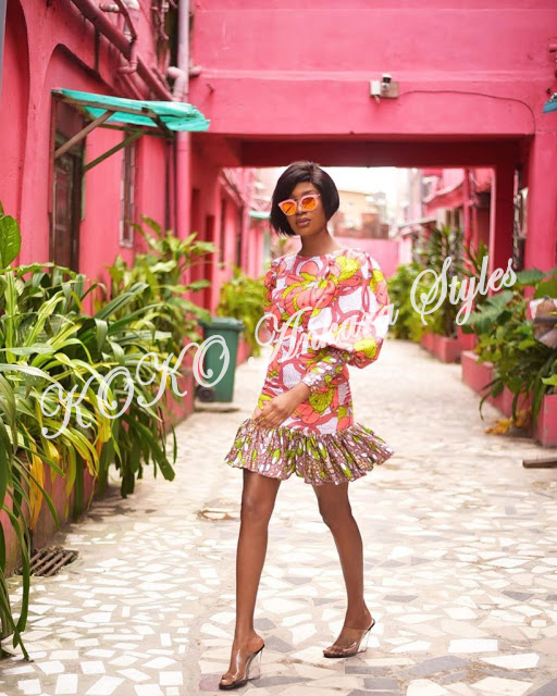 From Gowns To Jumpsuits: Lovely Ankara Styles For The Sisi Oge 1