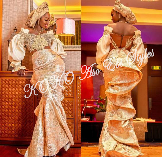 Be The Aso Ebi Queen In These Sparkling Reigning Styles 1