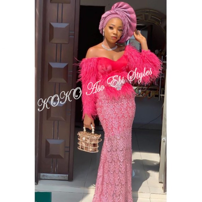 Catch All The Attention In These 5 Charming Aso Ebi Styles