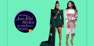 5 Fab Short Aso Ebi Styles That Will Enhance Your Curves