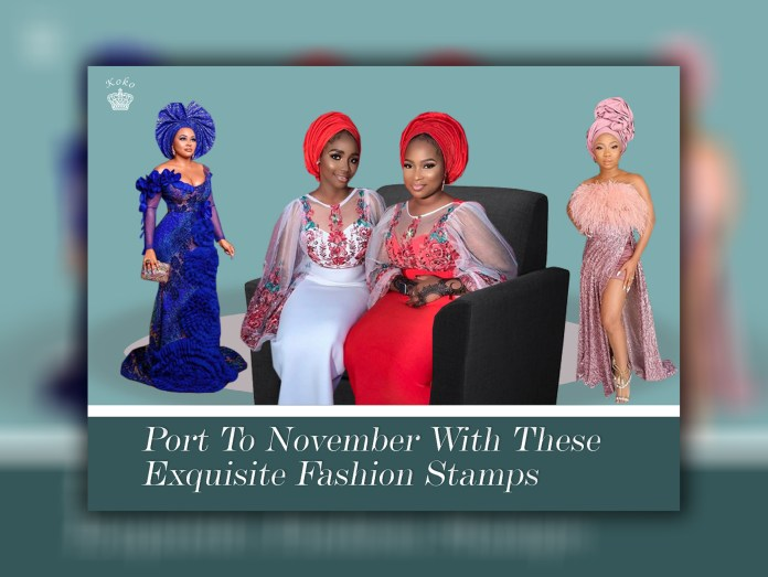 Aso Ebi Styles: Port To November With These Exquisite Fashion Stamps
