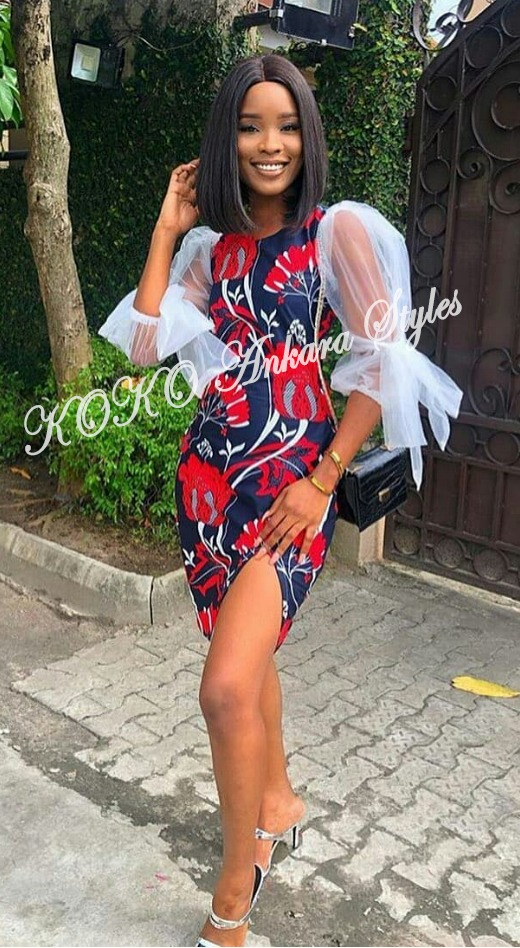 Brace Your Style With These Stunning Short Ankara Styles 1