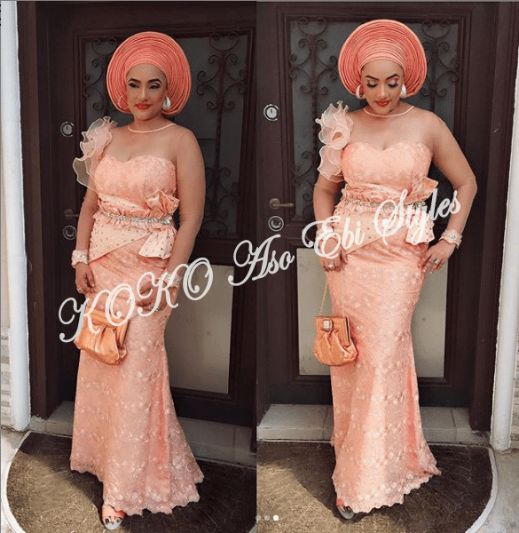 Vamp-Up With These 5 Ultra Gorg Aso-Ebi Styles Featuring Adunni Ade And Lilian Bach 2