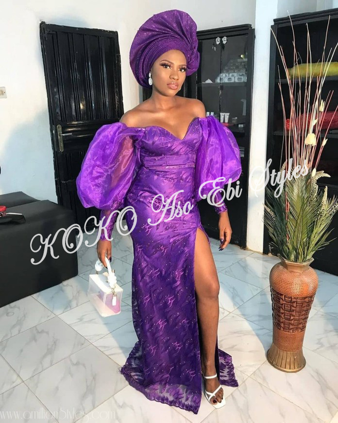 Vamp-Up With These 5 Ultra Gorg Aso-Ebi Styles Featuring Adunni Ade And Lilian Bach 1