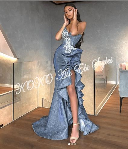 Daring Aso Ebi Styles For The Daring Fashionista