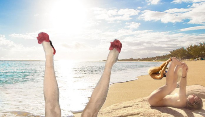 Meet Meagan, The Woman Who Goes Completely Naked For Libido-Improving 'Bum Sunning' 2