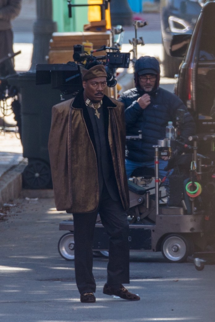 Eddie Murphy Snapped On Coming To America 2 Set, 30 Years After Original 3