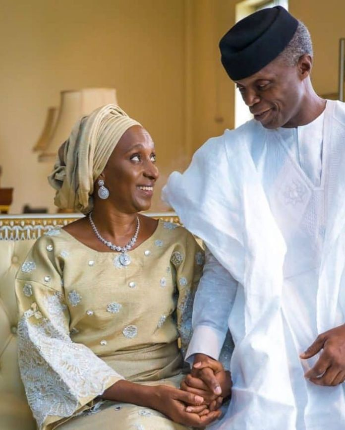 Hand In Hand: Yemi Osinbajo's Wife Dolapo Celebrates Their 30th Year Together 7