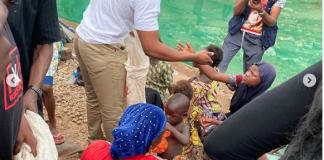 BBNaija: Frodd, Omashola Feed 500 Less Privileged Children