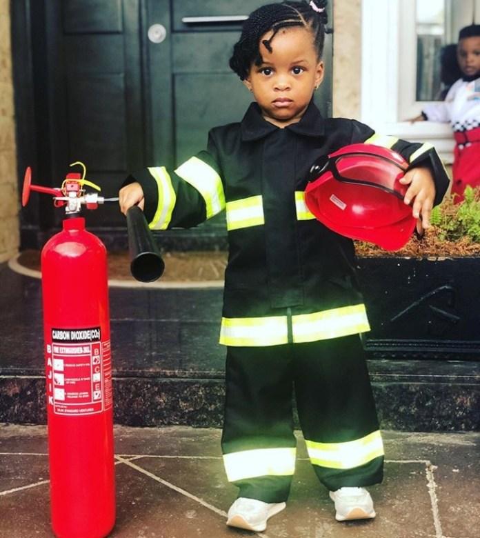 KOKO Junior: Paul Okoye's Twin Nadia Okoye Is A Firefighter