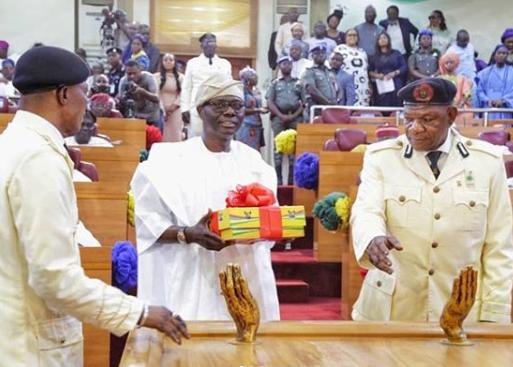 Sanwo-Olu's Presents 2020 Budget 34% Higher Than 2019's