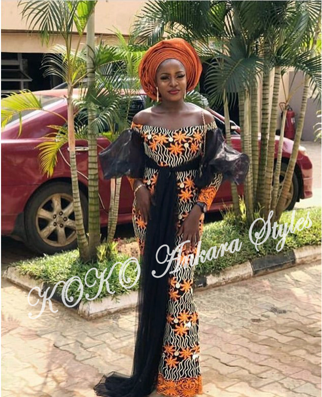 Eccentric Ankara Styles That Will Have Your Onlookers Go Awwn! 5