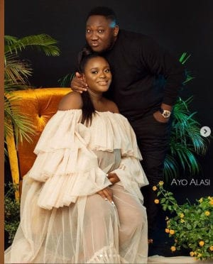Comedian Ajebo Welcomes Baby With Wife