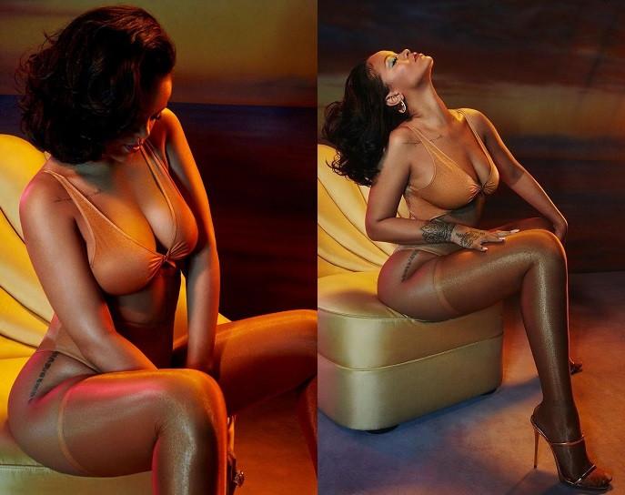 Rihanna In Fenty Lingerie KOKO TV NG 1