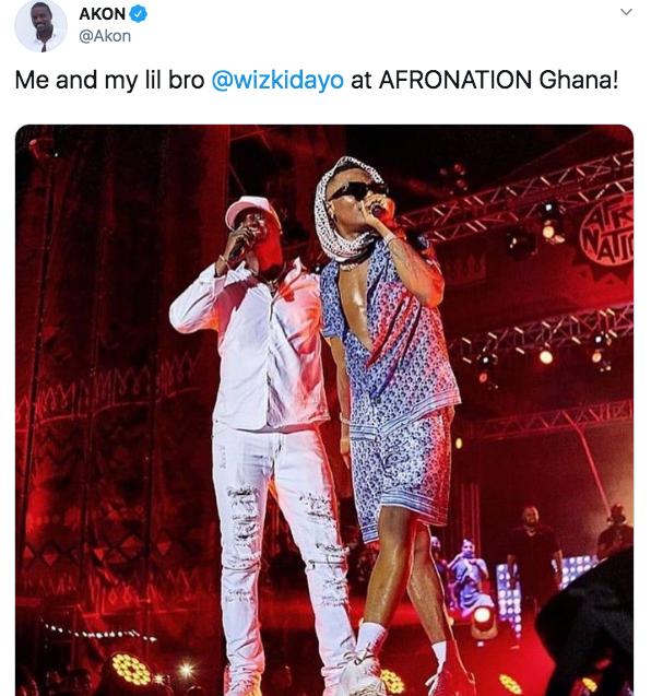 MI Disses Akon For Calling Wizkid Lil Bro