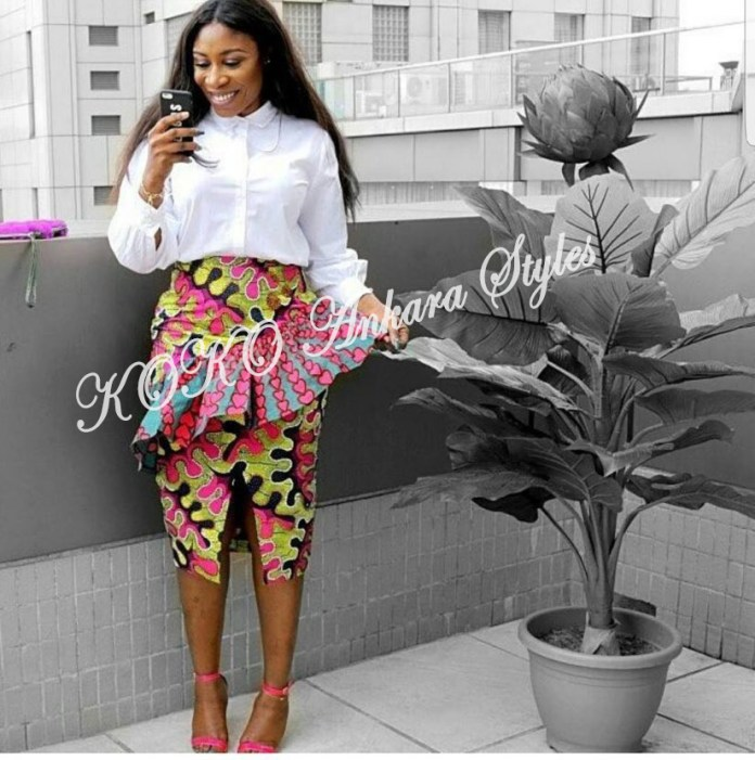 Finally! End The Year In These Lovely Ankara Styles