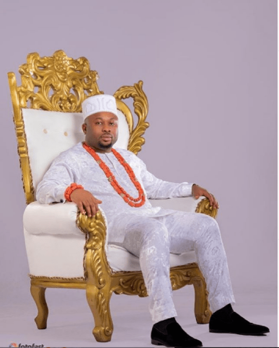 Olakunle Churchill Celebrates Birthday With Royal Snaps