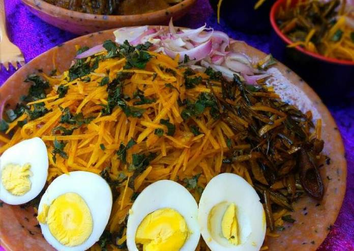 FOOD: How To Make Abacha, The Mouth-Watering African Salad