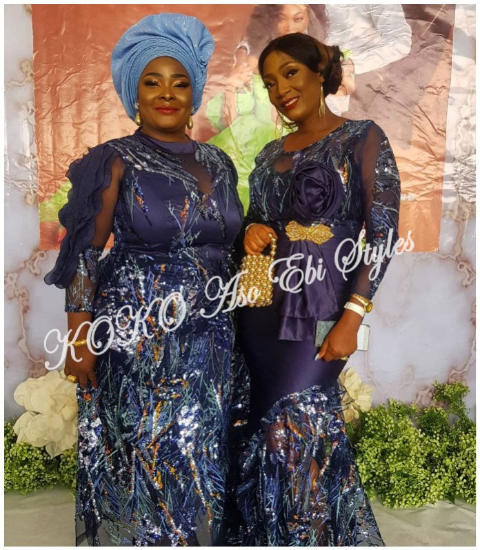 Stunning Aso Ebi Styles For The 2nd Week Of The Year