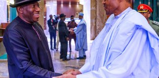 Jonathan and Buhari