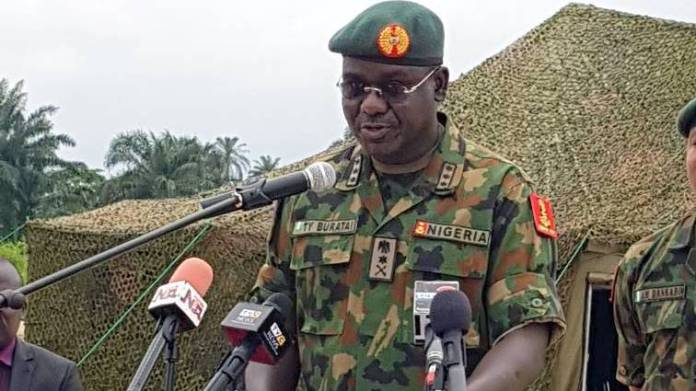 You Can't Scare Me With Travel Ban - Army CoS, Buratai