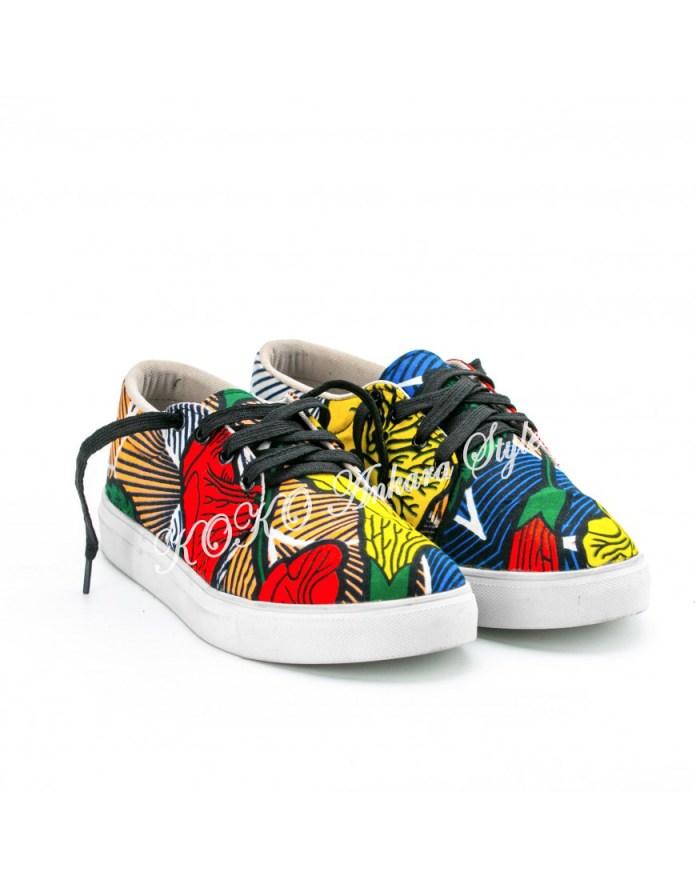 Ankara sneakers