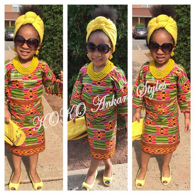 10 Beautiful Ankara Styles For Your Little Princess
