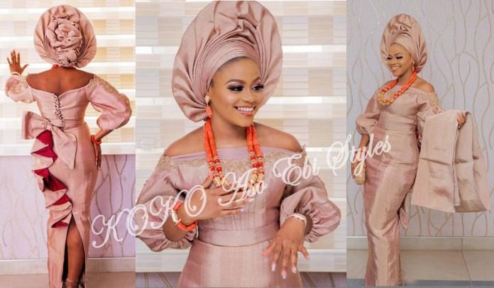 10 Aso Ebi Styles Inspiration For The Perfect KOKOnista Bride