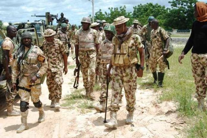 """""""E No Go Better For You Buratai"""", Soldiers Curse Chief Of Army Staff"""