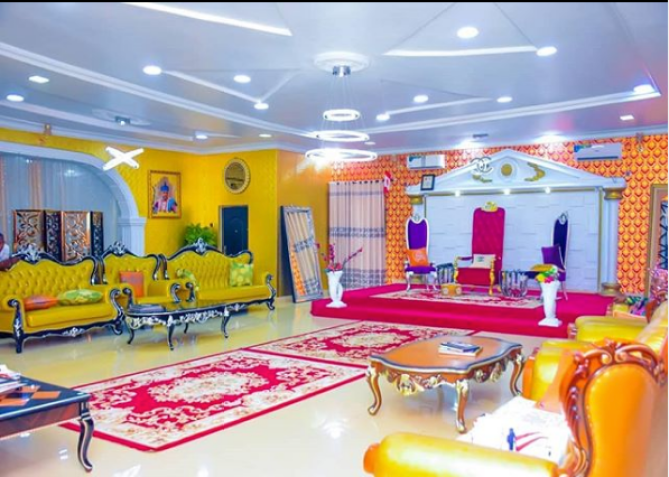 Oluwo Of Iwo Flaunts New Palace Interior As He Hosts Less Privileged Children