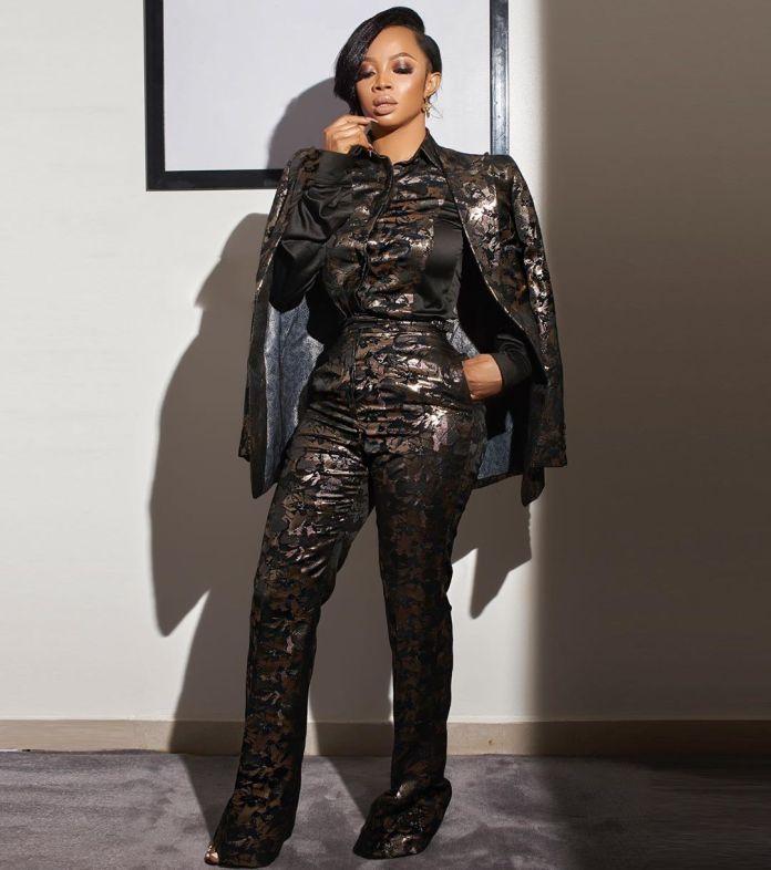 Celebrity Beauty Of The Week: Toke Makinwa Serves Boss Lady Inspiration in 3 Piece Suit