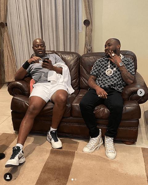 Davido And Seyi Makinde