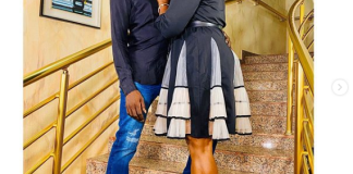 Funke Akindele and hubby JJC Skillz