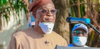 Osun State governor Gboyega Oyetola